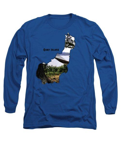Camp Island Long Sleeve T-Shirt by Mim White