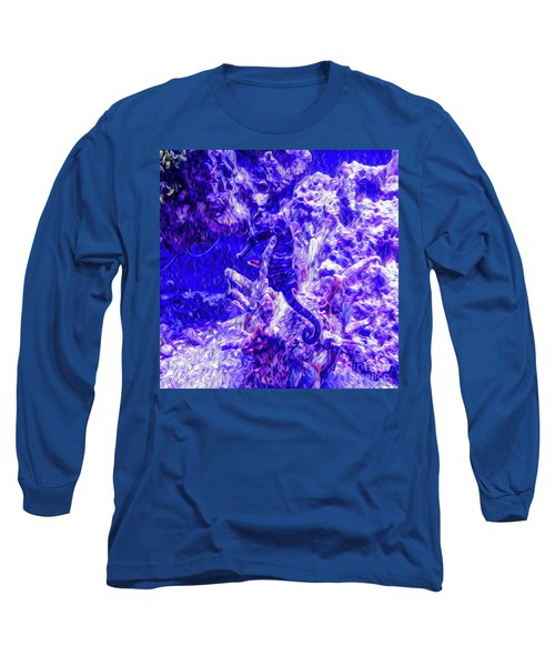Can You Find The Sea Horse Long Sleeve T-Shirt