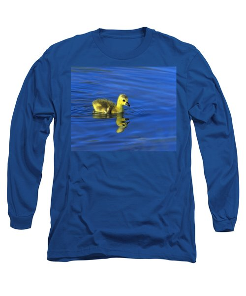 Canada Gosling Goes For A Swim Long Sleeve T-Shirt