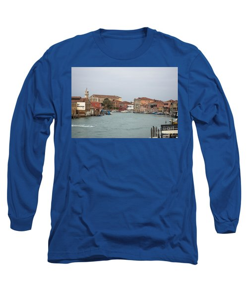 Canal Of Murano Long Sleeve T-Shirt