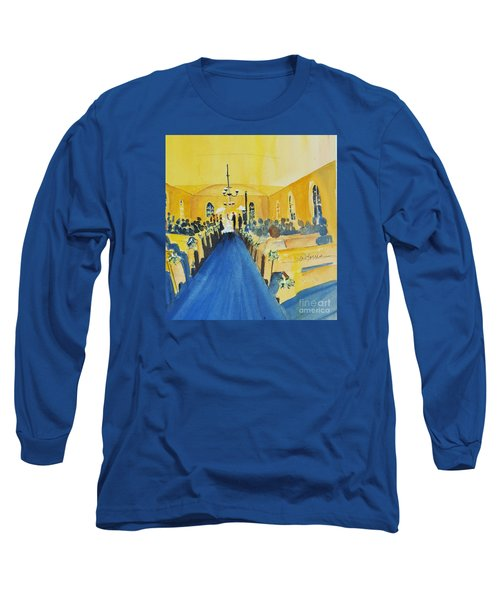 Candlelight Wedding At The Historic Ryssby Church Long Sleeve T-Shirt