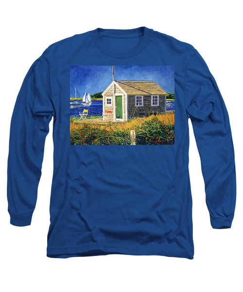 Cape Cod Boat House Long Sleeve T-Shirt