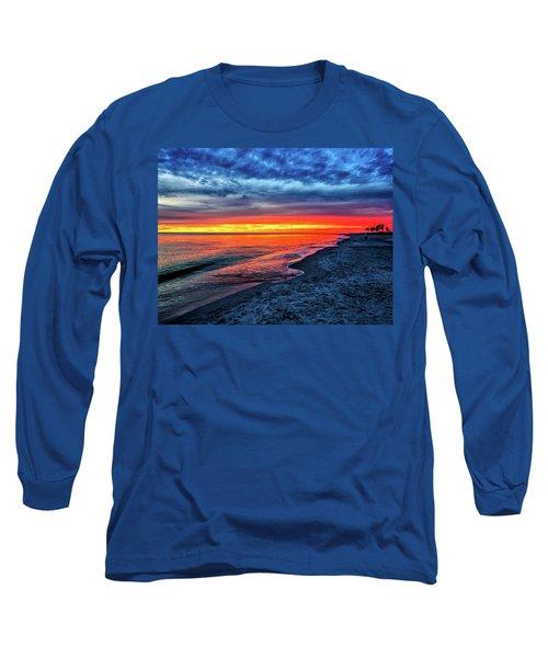 Captiva Island Sunset Long Sleeve T-Shirt