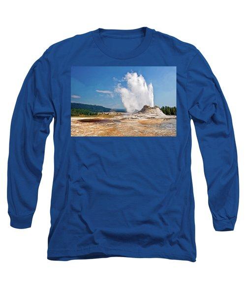 Castle Geyser Long Sleeve T-Shirt
