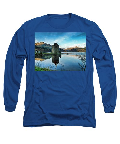Castle On The Loch Long Sleeve T-Shirt