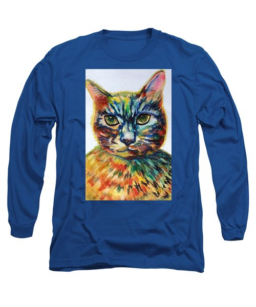Cat A Tude Long Sleeve T-Shirt