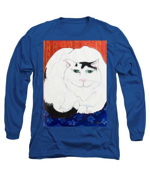 Cat II - Cat Dozing Off Long Sleeve T-Shirt