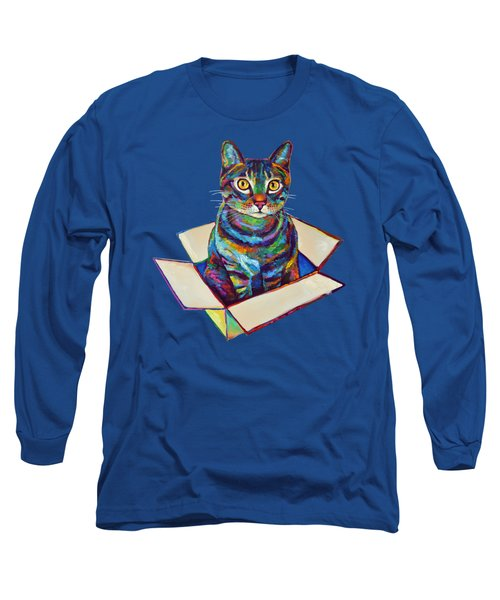Cat In A Box Long Sleeve T-Shirt