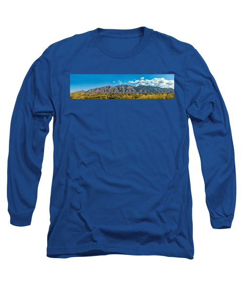 Long Sleeve T-Shirt featuring the photograph Catalina Mountain Panorama by Dan McManus