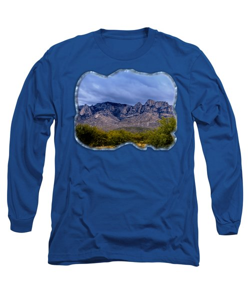 Catalina Mountains P1 Long Sleeve T-Shirt by Mark Myhaver