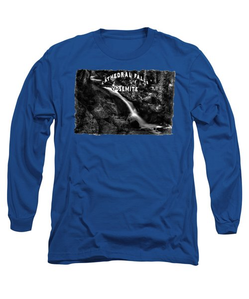 Cathedral Falls From The Tioga Pass Road Long Sleeve T-Shirt