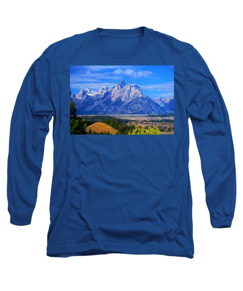 Cathedral Group Impressions Long Sleeve T-Shirt by Greg Norrell
