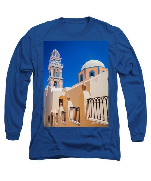 Catholic Cathedral Church Of Saint John The Baptist Long Sleeve T-Shirt