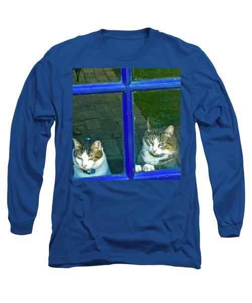 Cats On Baylor Street Long Sleeve T-Shirt