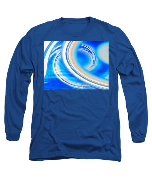 Long Sleeve T-Shirt featuring the photograph Celestial Rings by Shawna Rowe