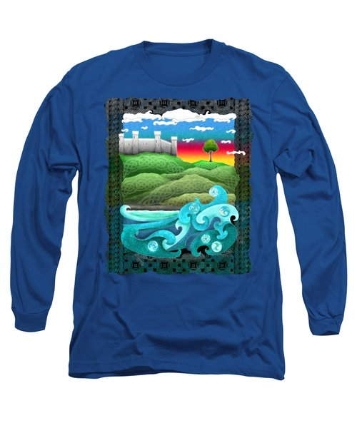 Celtic Castle Tor Long Sleeve T-Shirt
