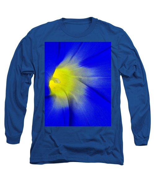 Center Of Being Long Sleeve T-Shirt by Lenore Senior
