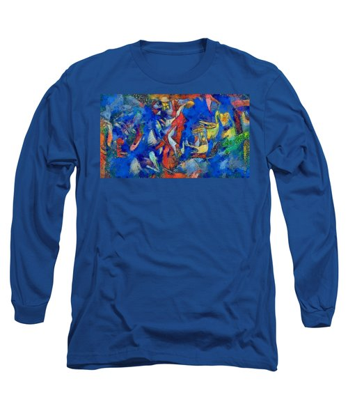 Chagall's Dream Long Sleeve T-Shirt