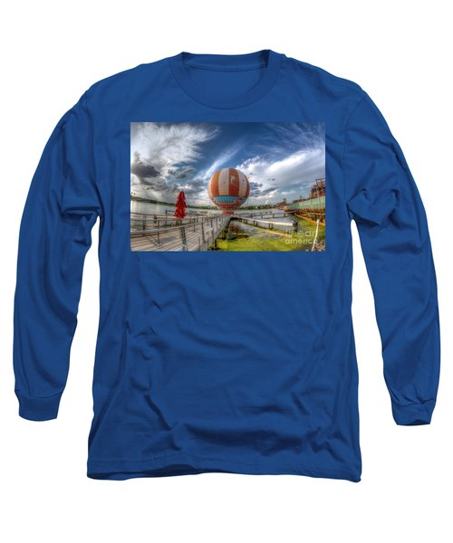 Characters In Flight Long Sleeve T-Shirt