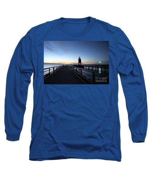 Charlevoix Light Tower Long Sleeve T-Shirt