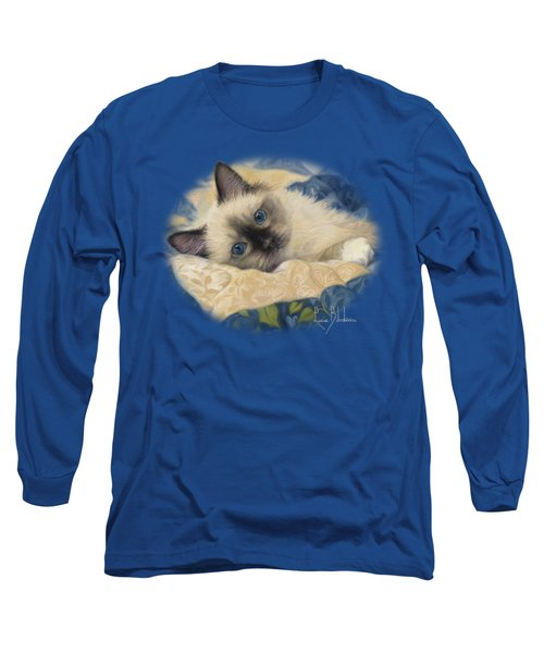 Charming Long Sleeve T-Shirt by Lucie Bilodeau
