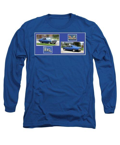Chevy Nova Horizontal Long Sleeve T-Shirt