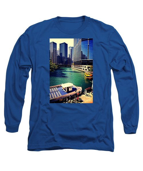 City Of Chicago - River Tour Long Sleeve T-Shirt