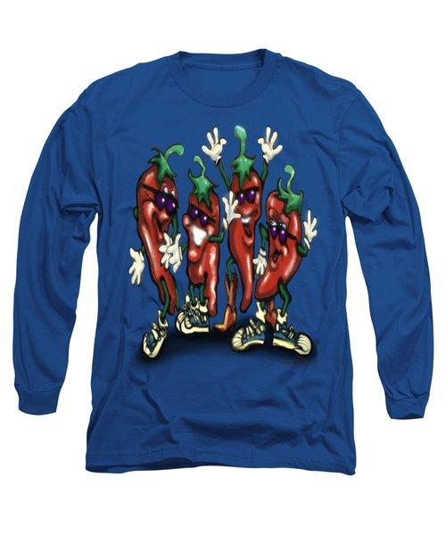 Chili Peppers Gang Long Sleeve T-Shirt