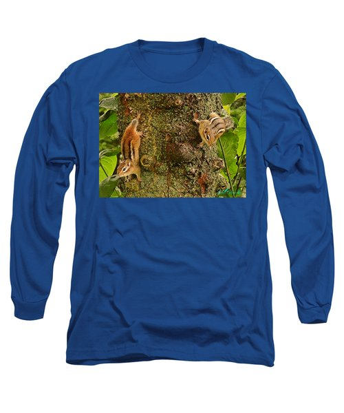 Chipmunks Long Sleeve T-Shirt