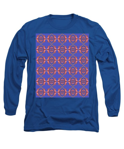 Chock A Block Blue Long Sleeve T-Shirt