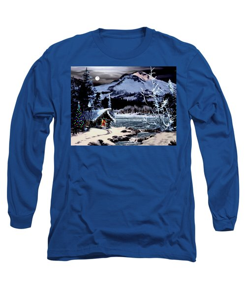 Christmas At The Lake V2 Long Sleeve T-Shirt