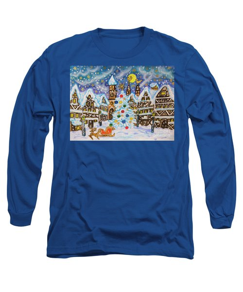Christmas In Europe Long Sleeve T-Shirt
