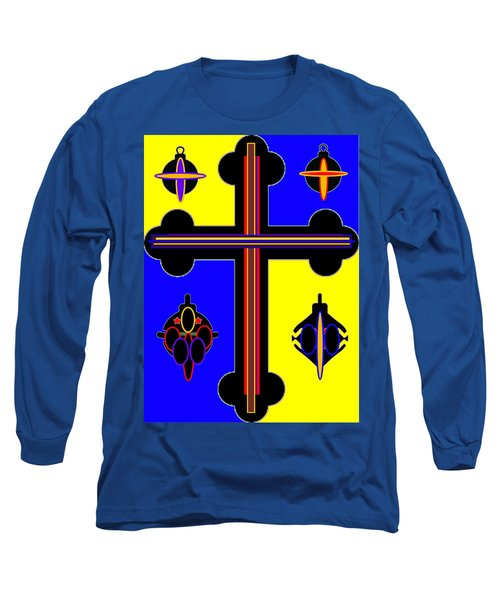 Christmas Ornate 2 Long Sleeve T-Shirt