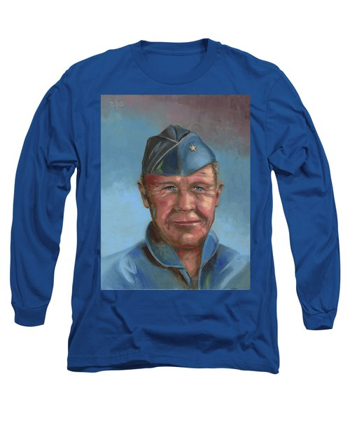 Chuck Yeager Long Sleeve T-Shirt