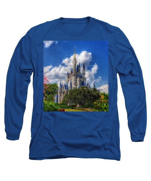 Cinderella Castle Summer Day Long Sleeve T-Shirt