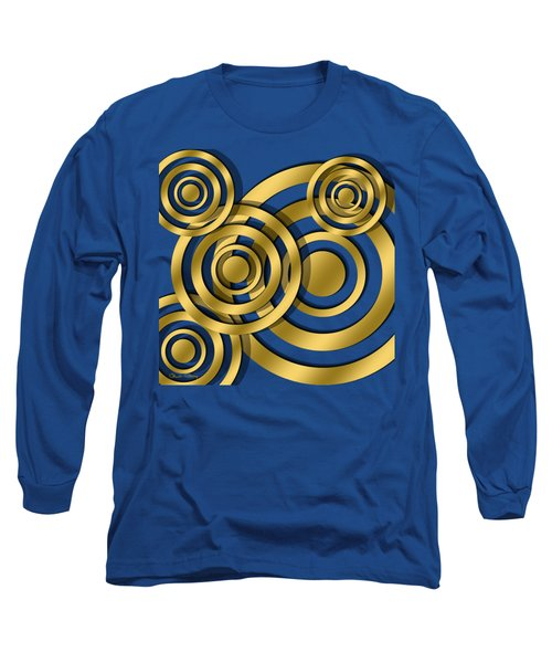 Circles - Chuck Staley Design Long Sleeve T-Shirt by Chuck Staley