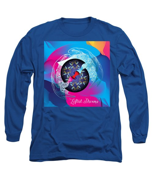 Circularium No 2719 Long Sleeve T-Shirt by Alan Bennington
