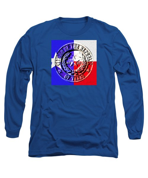 Citizen Of The Republic Of Texas Long Sleeve T-Shirt