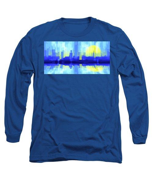 City Sun Silhouette Long Sleeve T-Shirt