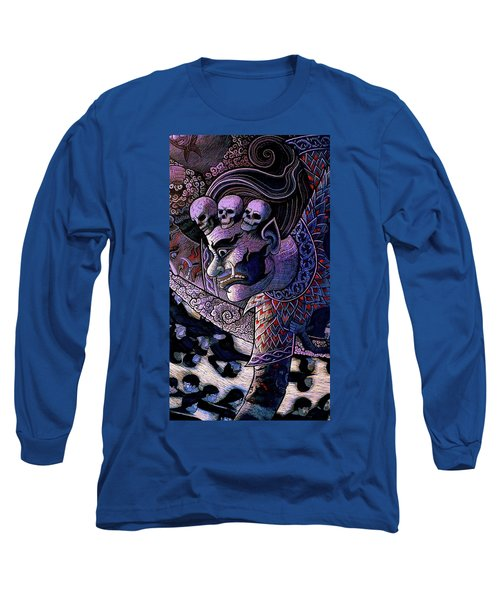 Claiming Lost Souls  Long Sleeve T-Shirt by Ian Gledhill