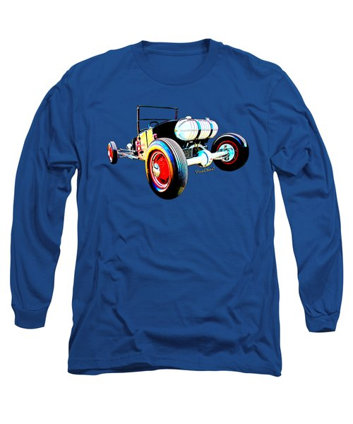Classic Hot Rod T In A Stormy Sunset Long Sleeve T-Shirt