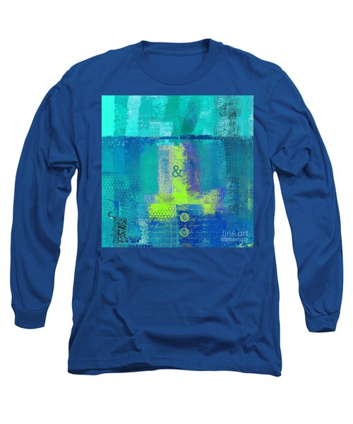 Long Sleeve T-Shirt featuring the digital art Classico - S03c26 by Variance Collections