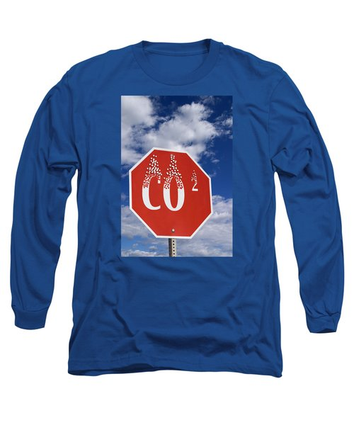 Climate Change Long Sleeve T-Shirt by George Robinson