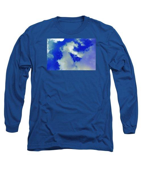 Cloud 1 Long Sleeve T-Shirt by M Diane Bonaparte