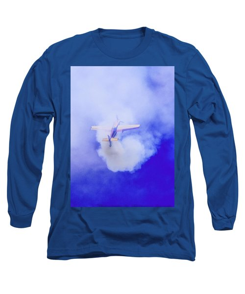 Long Sleeve T-Shirt featuring the photograph Cloudmaster by Michael Nowotny