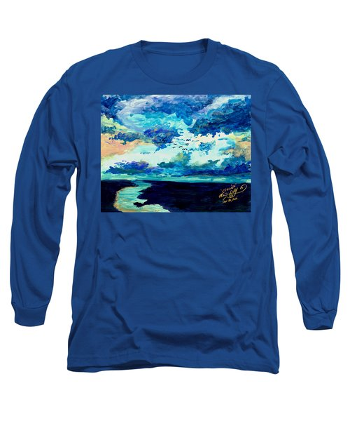 Clouds Long Sleeve T-Shirt by Melinda Dare Benfield
