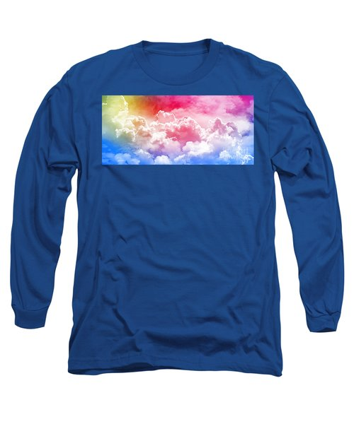 Clouds Rainbow - Nuvole Arcobaleno Long Sleeve T-Shirt