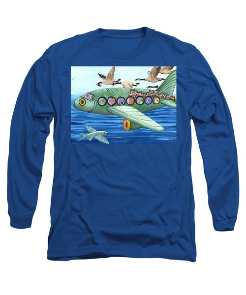 Cod Is My Co-pilot Long Sleeve T-Shirt