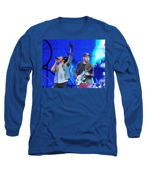 Coldplay6 Long Sleeve T-Shirt by Rafa Rivas