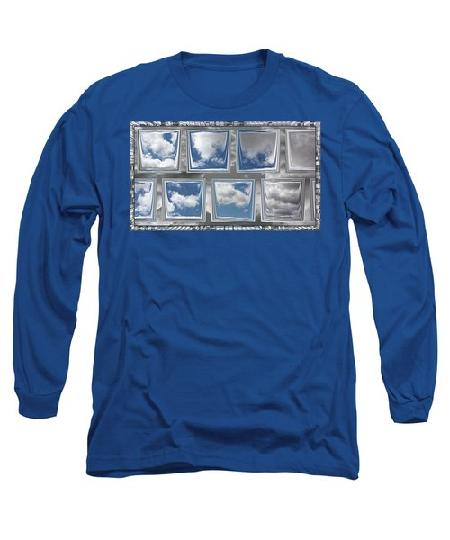 Long Sleeve T-Shirt featuring the digital art Collected Spring Mornings by Wendy J St Christopher